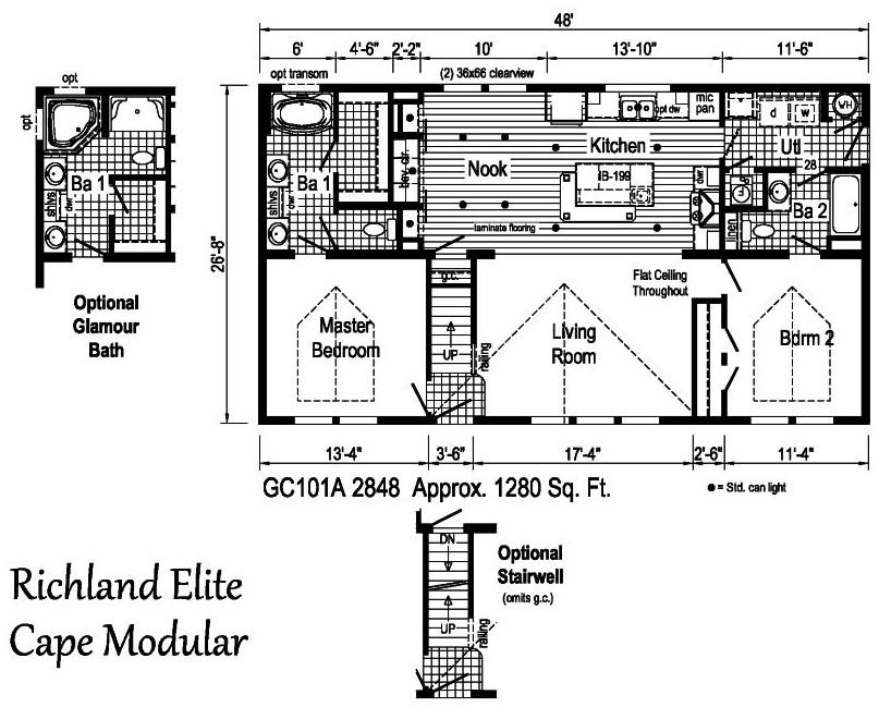 Commodore Richland Elite Cape Gc101a Owl Homes